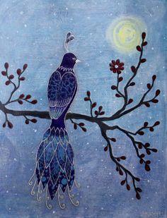 """Blooming""  by Shanti I.Kassebom"