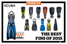 The Best Fins of 2015 by SCUBALAB | Scuba Diving Magazine