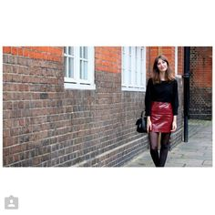 Instagram photo by @leather_skirts via ink361.com