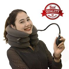 Stop dealing with neck pains and start choosing any of these best neck traction devices to cure the pain now. Here is the top 10 best products to help you. Acupressure Points, Neck Pain, Stretching, Tops, Fashion, Moda, Sore Neck, Fashion Styles, Stretching Exercises