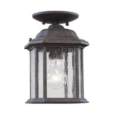 Sea Gull Lighting Products Kent Outdoor Hanging Light 60029-746