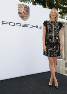 Maria Sharapova - Porsche Media Night With Maria Sharapova In Miami
