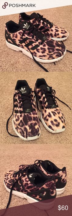 Adidas Torsion Cheetah Print Sneaker!! Adidas Torsion Cheetah Print Sneaker!! Youth 5 which equals a women's 7!!! These have only been worn a couple of times!!! In almost perfect condition!!! These are so cute and go with everything!!!! Don't pass these up!!! Adidas Shoes Sneakers