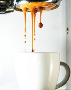For anyone who drinks Starbucks (aka the big bad mermaid).... here is what REAL espresso looks like! Made by hand with love and delicately pulled and attended to every second of its creation. Just for you :) no presets, no buttons, just actual manual labor for the love of coffee!