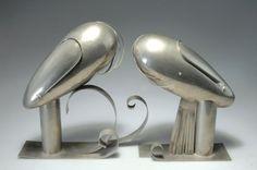 Franz Hagenauer (1906-1986), Werkstätten Hagenauer, Wien, Nickel Plated Brass Sculpture.