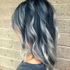 Silver Hair Wavy