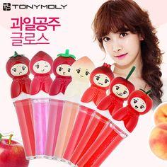 Tony Moly Fruit Princess Gloss   The Cutest Makeup Korean Beauty, Asian Beauty, Makeup Products, Beauty Products, B Words, Korean Make Up, Cool Things To Make, How To Make, Diy Spa
