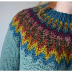 Ravelry: Project Gallery for Isadora Lopapeysa pattern by Kate Gagnon Osborn