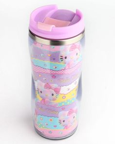 Mornings are extra sweet with the #HelloKitty Dreamland tumbler