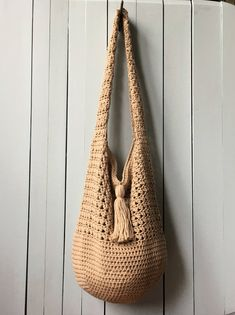 Crochet Tote Bag PATTERN Bucket Bag Crochet Pattern Boho