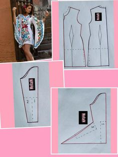 Sewing Darts - Step by Step Easy Tutorial Dress Sewing Patterns, Clothing Patterns, Knitting Patterns, Sewing Hacks, Sewing Tutorials, Sewing Tips, Sewing Sleeves, Costura Fashion, Creation Couture