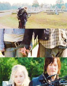 The Walking Dead season 4 Daryl & Beth