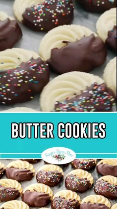 Italian Cookie Recipes, Holiday Cookie Recipes, Chocolate Cookie Recipes, Italian Cookies, Easy Cookie Recipes, Holiday Desserts, Holiday Baking, Easter Desserts, Easter Recipes