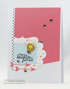 Card by SPARKS DT Isha Gupta PS stamp set: We Totally Click; PS dies: Click Icons, Cardbooking, and Duo Die 1