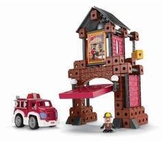 Fisher-Price TRIO Fire Station Fisher-Price, http://www.amazon.com/dp/B001W0WF46/ref=cm_sw_r_pi_dp_TA9qtb0C52MK5NDF