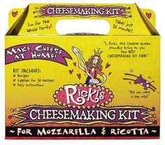 Mozzarella and Ricotta Cheese Making Kit Home Family Fun Food Delicious Activity…
