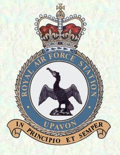 RAF Upavon, Wiltshire. My first and best posting. I worked at HQ 38 Group.