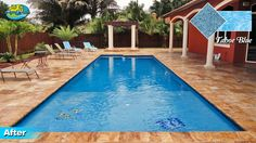 Swimming pool resurfacing Miami - pool plastering experts Aqua 1 Pools offers Diamond Brite pool finish for durability and years of pool enjoyment. Miami Pool, Pool Plaster, Pool Finishes, Blue Pool, Pool Designs, Aqua Blue, Plastering, Swimming Pools, Outdoor Decor