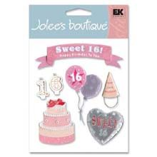 Sweet 16 Stickers - Jolees Boutique