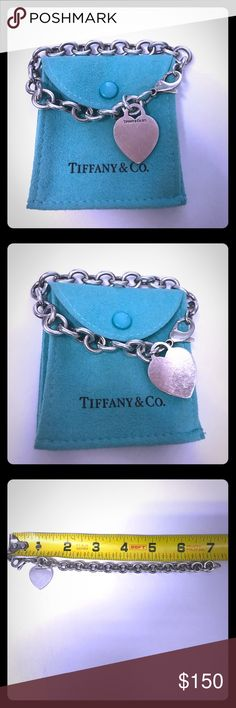 Authentic Tiffany & Co. Heart Tag Bracelet Authentic Tiffany & Co. Heart Tag Bracelet. Tiffany & Co. Jewelry Bracelets