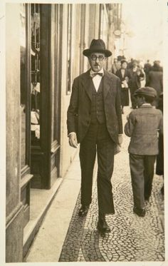Fernando Pessoa: (1888 - 1935) was a Portuguese poet, writer, literary critic, translator, publisher and philosopher, as one of the most significant literary figures of 20th century.