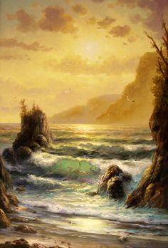 pintura - seascape, comprar pinturas Marinha peyzazh.hud.S.Minaev (202) /