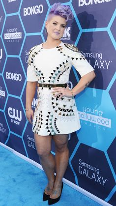 The Starlets Step Out For the 2014 Young Hollywood Awards - Kelly Osbourne from #InStyle