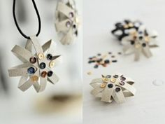 10 Christmas crafts projects made out of toilet paper rolls in diy cardboard with toilet paper roll DIY Craft Christmas advent calendar Christmas Craft Projects, Holiday Crafts, Christmas Crafts, Christmas Ornaments, Christmas Stars, Paper Ornaments, Christmas Paper, Christmas 2015, Crafts To Make