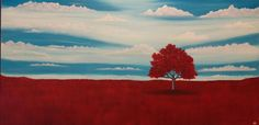 ARTFINDER: Splendid by Anthony Lusignan - Growing up in the Edmonton Alberta I would spend many of my summers away from the city at my Grandparents farm near Barhead. Often I would find myself wonder. Single Tree, Walk Past, Open Field, Oil Painting On Canvas, Sky, Image, Grandparents, Originals, Artworks