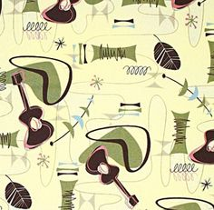 retro prints for drapes and blinds, cool stuff