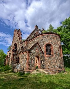Largest Countries, Countries Of The World, Weekend Humor, Shed Homes, Interesting Buildings, Central Europe, Kirchen, Stairways, Abandoned