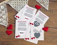 Tickets à gratter pour jeu de la jarretière - Animation mariage