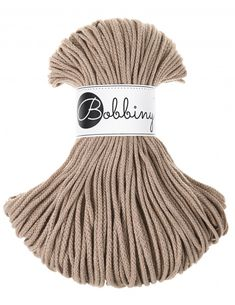 Sand cotton cord 3mm 100m Bobbiny Singles Twist, Knit Rug, Macrame Cord, Macrame Projects, Pantone Color, Knitting Needles, Color Pop, Shop Now, Beige