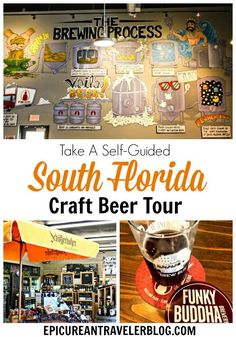 Calling all craft beer drinkers visiting Florida! In this post you'll find four fantastic destinations for craft beer tasting in the greater Fort Lauderdale area with a Google map of the driving route! This self-guided brewery tour is based off my experie