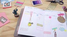 Quer ver como eu decoro as páginas do meu planner? Confira o vídeo na íntegra aqui: https://youtu.be/POSlNr10Rh0  #planner #planneraddict #decoração #papelariacriativa #papelaria #plannerbrasil #acraft #plannerlove #plannersupplies