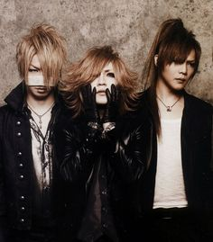 The GazettE. Reita, Ruki and Kai