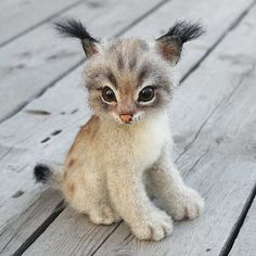 Малышка КассиДом нашла. Sold. #needlefelting #needlefelted #kitty t #cat #feltingwool #felz