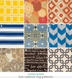 Colorful Outdoor Rugs We Love