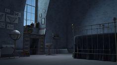 ArtStation - Hardsurface room, Veronika Epsteina