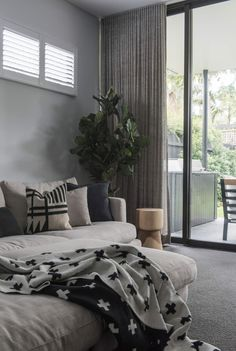 The home of designer Clare LeRoy in Roseville is the definition of modern design that maintains a traditional charm - the best of both design worlds. Australian Interior Design, French Interior, Natural Oak Flooring, Old Country Houses, Portfolio Design, Decoration, Living Area, Living Rooms, Home And Family