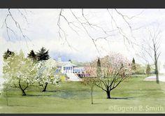 John Handley High School painting by Eugene Smith