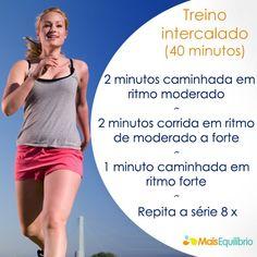 Treino intervalado: faça os 'tiros' e ganhe ainda mais resistência http://maisequilibrio.terra.com.br/treinamento-intervalado-3-1-2-303.html