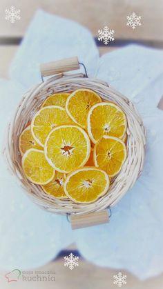 Moja smaczna kuchnia: Jak suszyć owoce? Suszone plastry pomarańczy