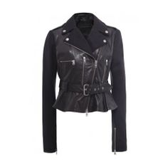 McQ Alexander McQueen Women's Leather Panelled Biker Jacket UK 12 Black McQ Alexander McQueen,http://www.amazon.com/dp/B00EQ5A9EW/ref=cm_sw_r_pi_dp_Cpwusb053EVGNAME