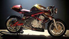 Kawasaki ER6N cafe racer
