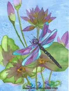 Bergsma Dragonfly tutorial...Jo Flockton...TAC
