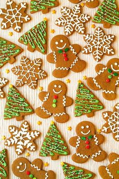 This is my favorite Gingerbread Cookie recipe! They're soft and chewy and they have the perfect amount of gingery molasses flavor.
