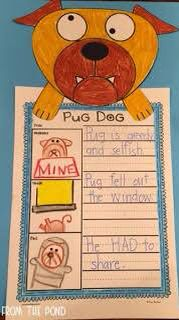 Aaron blabey author study worksheets for six of his books pig the pug fandeluxe Gallery
