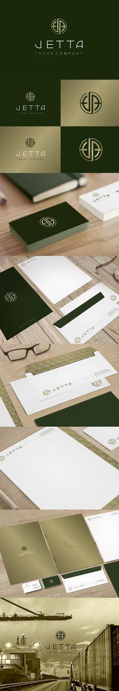 Posicionamento da marca Jetta - Trade Company. Projeto: Branding (marca e Identidade corporativa) designer: Priscila Áquila