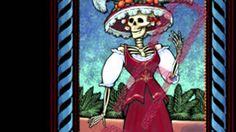 """La imagen de la Catrina se está convirtiendo en la imagen mexicana por excelencia sobre la muerte, es cada vez más común verla plasmada como parte de celebraciones de día de muertos a lo largo de todo el país, incluso ha traspasado la imagen bidimensional y se ha convertido en motivo para la creación de artesanías, ya sea de barro u otros materiales, las cuales dependiendo de la región pueden variar un poco en su imagen. Canción """"Mala"""" de Liliana Felipe / Jesusa Rodríguez. Canta, la primera."""